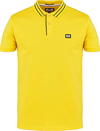 Weekend Offender Mens Frankie Polo SS Sunny (Large)
