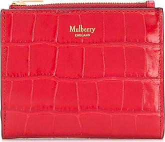Mulberry Carteira com gravação - Vermelho