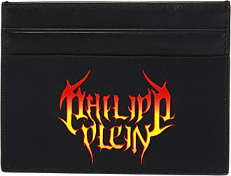 Philipp Plein Card Holder Mens Black