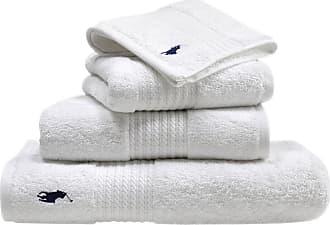 Ralph Lauren Home Player Towel - White - Bath Towel
