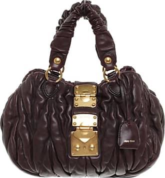 3e7187380c62d Miu Miu gebraucht - Handtasche aus Leder in Violett - Damen - Leder