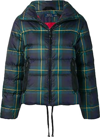Polo Ralph Lauren plaid puffer jacket - Blue