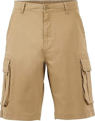 Weird Fish Brize Cotton Twill Cargo Shorts Taupe Grey Size 36
