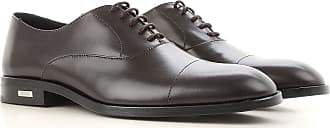 Versace Lace Up Shoes for Men Oxfords, Derbies and Brogues On Sale, Black, Leather, 2017, 10 10.5 11.5