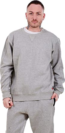 JD Williams Mens Fleece Sweatshirts Pullover Top Crew Neck Long Sleeve M to XXL Grey