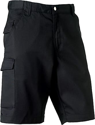 Russell Athletic Russell Workwear Work Shorts : Color - Black : Size - 38