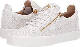 Giuseppe Zanotti Frankie Pyton Low Top Sneaker (Bianco) Mens Shoes