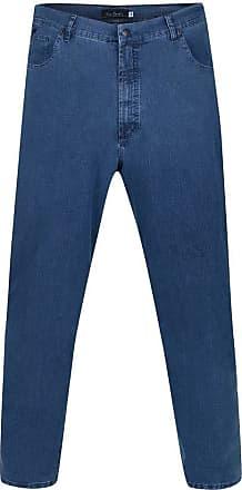Pierre Cardin Calça Jeans Plus Size Blue Fly 56