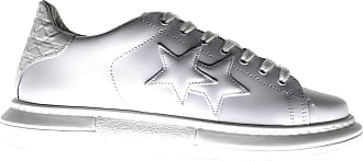 2Star 2SU2690 Mens Leather Lace-up Sneakers White Size: 9 UK