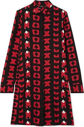 d187409b58f81 Akris Printed Silk Crepe De Chine Tunic - Red