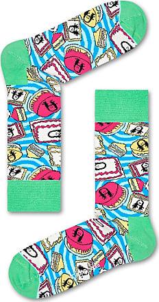 Happy Socks Steve Aoki Cake Design Ladies Unisex Cotton Socks Gift EUR 36-40