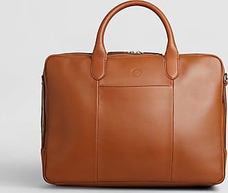 No.14 Savile Row No. 14 Leather Documents Bag | Tan