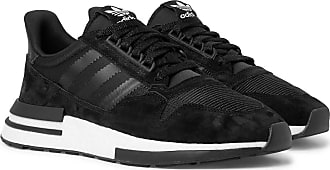 adidas Originals Zx 500 Rm Suede, Mesh And Leather Sneakers - Black