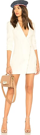 by the way. Selene Blazer Dress in White