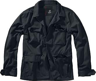 Brandit BDU Twill Jacket Men Between-Seasons Jacket Black 3XL, 100% Cotton