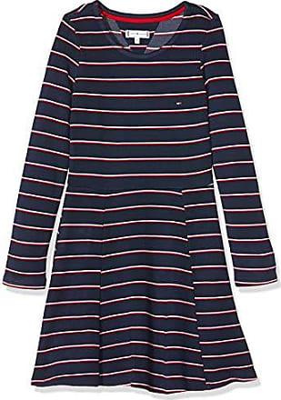 Mini robe en laine Tommy Hilfiger Bleu taille S