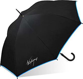 Weatherproof Fiberglass Fashion Stick Umbrella-480j-wp-blue, Blue