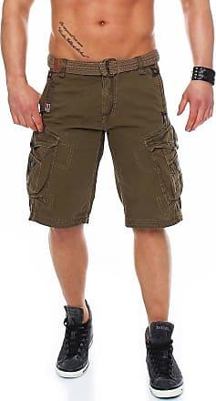 Geographical Norway bermuda shorts Perle Men, Color:Kaki;Size pants:XXL