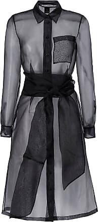 Madeleine Longhemd aus hauchzartem Organza in schwarz MADELEINE Gr 34 für Damen. Polyester. Waschbar