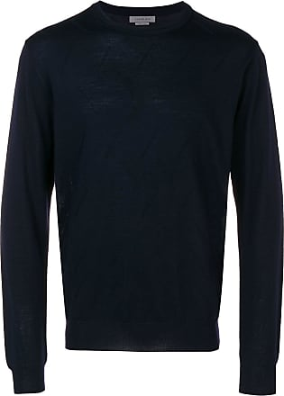 Corneliani crew neck sweater - Azul