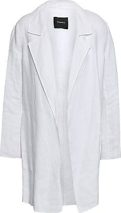 Theory Theory Woman Clairene Linen And Cotton-blend Jacket White Size XS