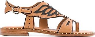 Ash Pampa eagle-shaped trimmed sandals - Brown