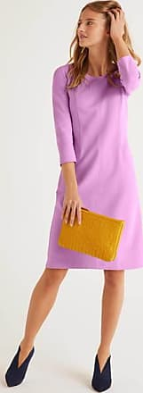 Boden Ellen Ottoman-Kleid Purple Damen Boden