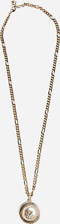 Versace Medusa medallion metal necklace - VERSACE - man
