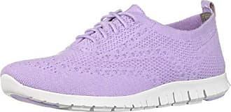 77e4bbbf22 Cole Haan Womens Zerogrand Stitchlite Wool Oxford Shoe, Purple, 8 B US