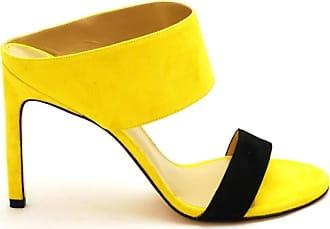 Stuart Weitzman Sandals High Heels Yellow