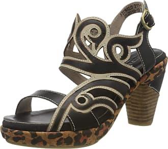 Laura Vita Womens Ficnalo 01 Open Toe Sandals, Black (Noir Noir), 7 UK