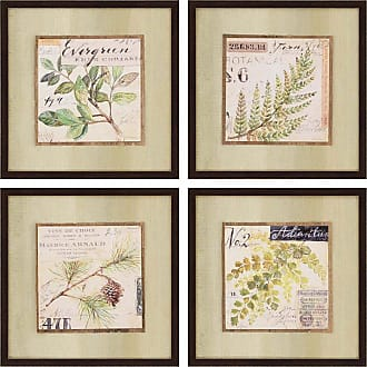 Paragon Picture Gallery Sketchbook Framed Wall Art - Set of 4 - 7121
