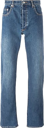 A.P.C. washed effect jeans - Blue