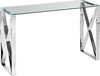 Sagebrook Home 12802-03 Console Table Silver