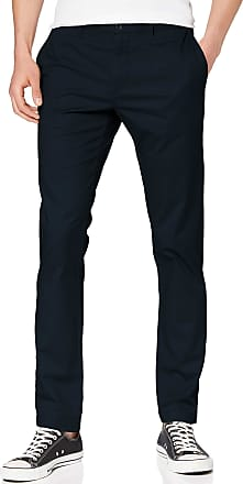 Original Penguin Mens P55 Premium Chino Trousers, Blue (Dark Sapphire ), W34/L32 (Manufacturer Size: 34/32)