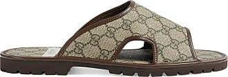 Gucci Mens GG Supreme slide sandal