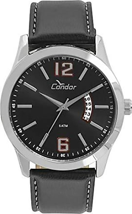 Condor Relógio Condor Masculino Casual Couro Prata - Co2115ksv/k2p