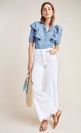 Mother The Tomcat Roller Chew High-Rise Wide-Leg Jeans