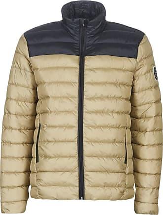 Only & Sons ONSSTEVEN Mens Coat Beige/Navy Beige Size: Large
