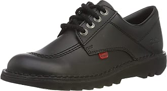 Kickers Kick Lo Core, Womens Lace-Up Shoes, Black (Black), 6 UK (39 EU)