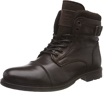 Mustang Mens Schnür Classic Boots, Brown (Dunkelbraun 32), 9.5 UK