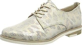 Marco Tozzi Marco Tozzi 23202, Zapatos de Cordones Derby para Mujer, Beige  (Dune dfa106b0f608