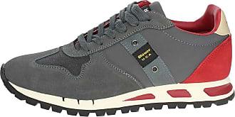MUSTANG01 Gris Blauer Petite Sneakers Homme b6gYyf7