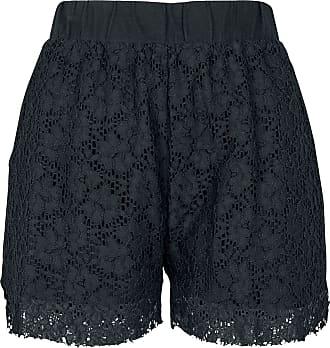 Urban Classics Ladies Lace Shorts - Short - schwarz