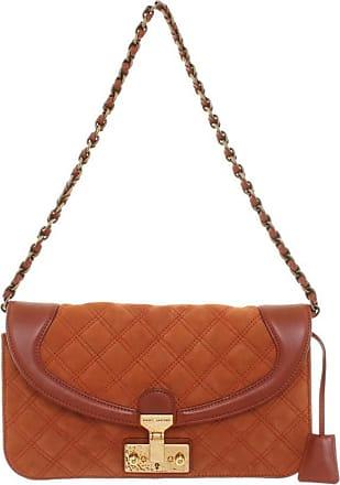 Marc Jacobs gebraucht - Marc Jacobs-Handtasche in Orange - Damen - Wildleder