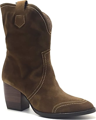 Wonders M-4106 Womens Cowboy Style Leather Ankle Boots Multicoloured Size: 6 UK