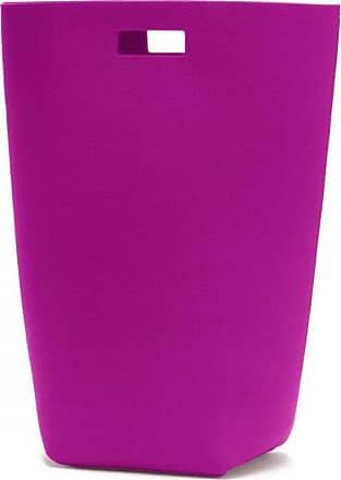 Hey-Sign Filz-Wäschekorb - pink/Filz/5mm/LxBxH 35x27x69cm