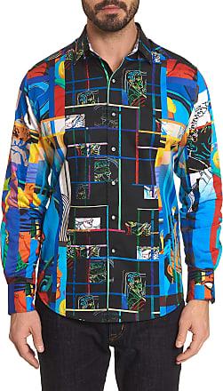 Robert Graham Mens Blindfold Sport Shirt Size: 2XL by Robert Graham