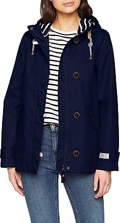 Joules Womens Coast Coat, Blue (French Navy Frnavy), (Size: 14)
