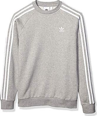 adidas Originals Crewneck Herren 3 Stripes Crew ED6016 Grau